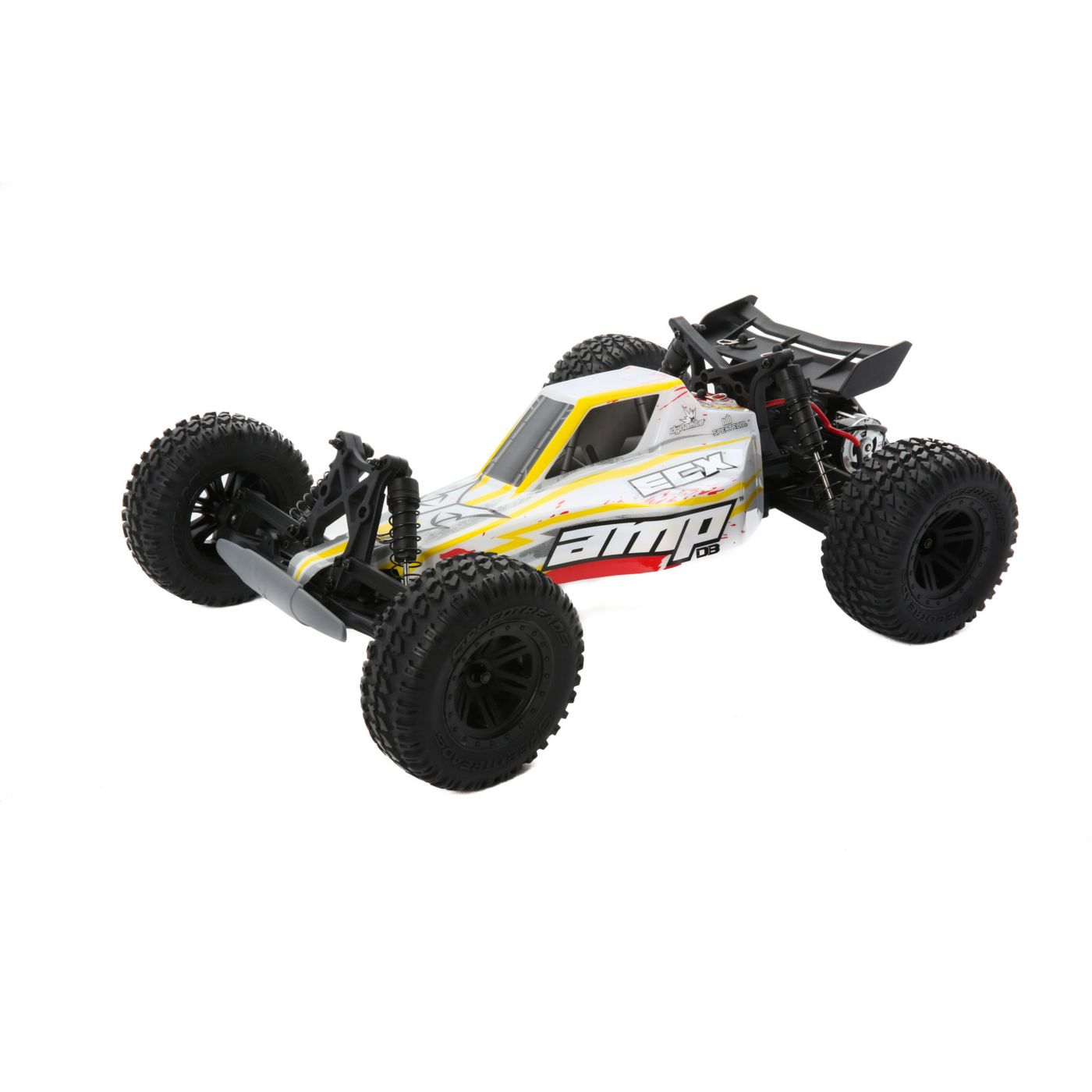AMP DB 1:10 2WD Desert Buggy: White/Red RTR