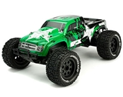 Ruckus 1:10 2wd Monster Truck : Green/Black RTR