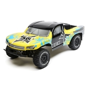 1/10 Torment 2WD SCT, Brushed, LiPo, RTR: Yellow/Blue