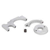 Motor Plate, Aluminum, Set: 1:10 4wd All