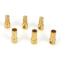 E-Flite Gold Bullet Connector 3.5mm