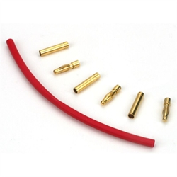 E-Flite Gold Bullet Connector Set 4mm