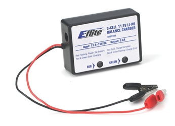 E-flite 3-Cell LiPo Balancing Charger, 0.8A