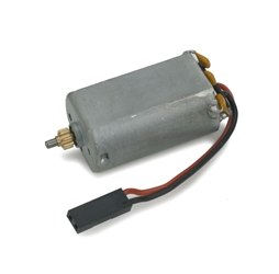 E-flite 180 Motor with 8T 0.5M Pinion Left: BCX/2/3