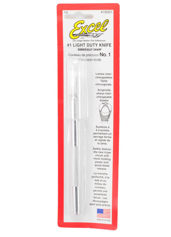 Light Duty Knife with Safety Cap - EXL16001