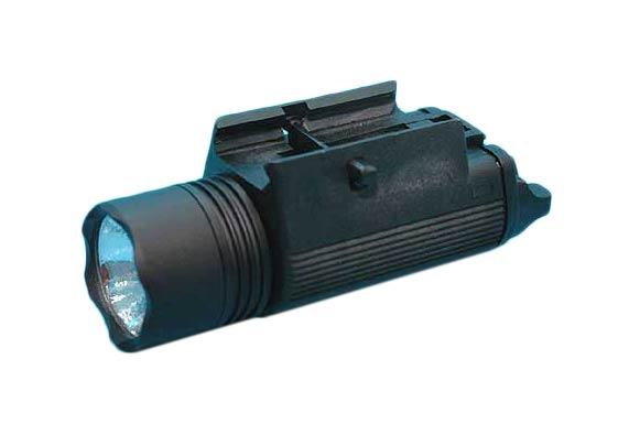 Tactical M3 Illuminator Combat Light with 120 Lumen Xenon Lamp - Black