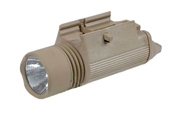 Tactical M3 Illuminator Combat Light with 120 Lumen Xenon Lamp - Dark Earth Tan
