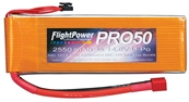 FlightPower LiPo Pro50 2550mAh 4S Quad Cell 14.8V 50C