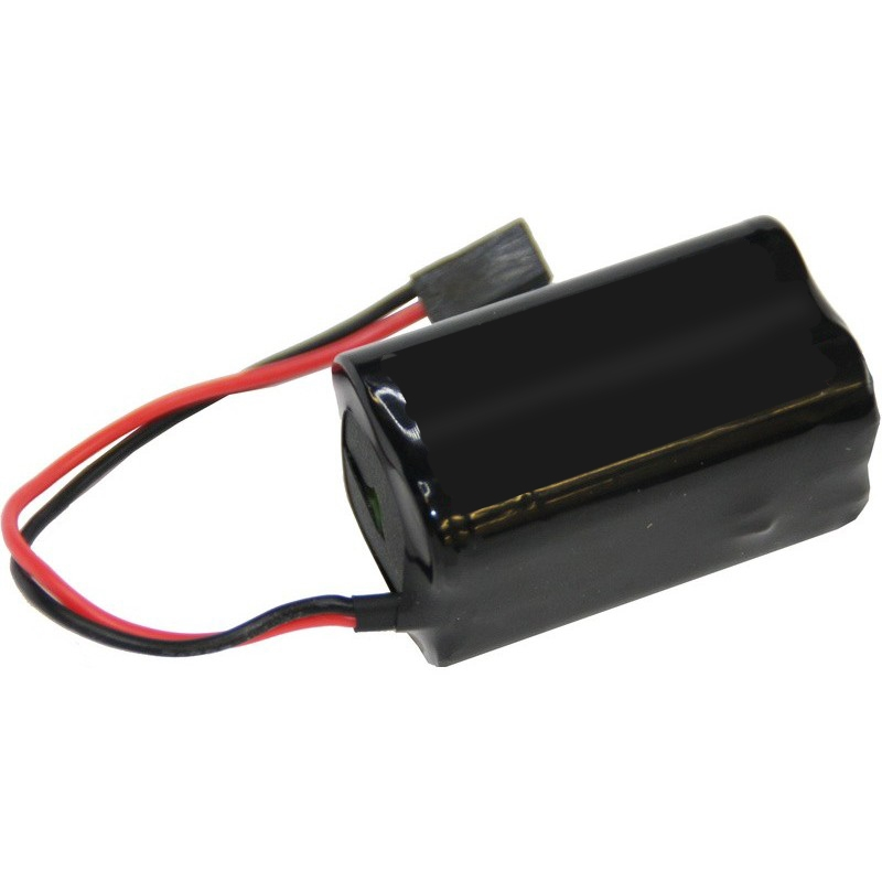 4-Cell 4.8V 1000mAh NiCd Square Receiver Pack - Futaba FUTM1295 / NR4QB Replacement