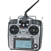 Futaba 10CHG 2.4GHz Integrated Helicopter Radio Mode 2