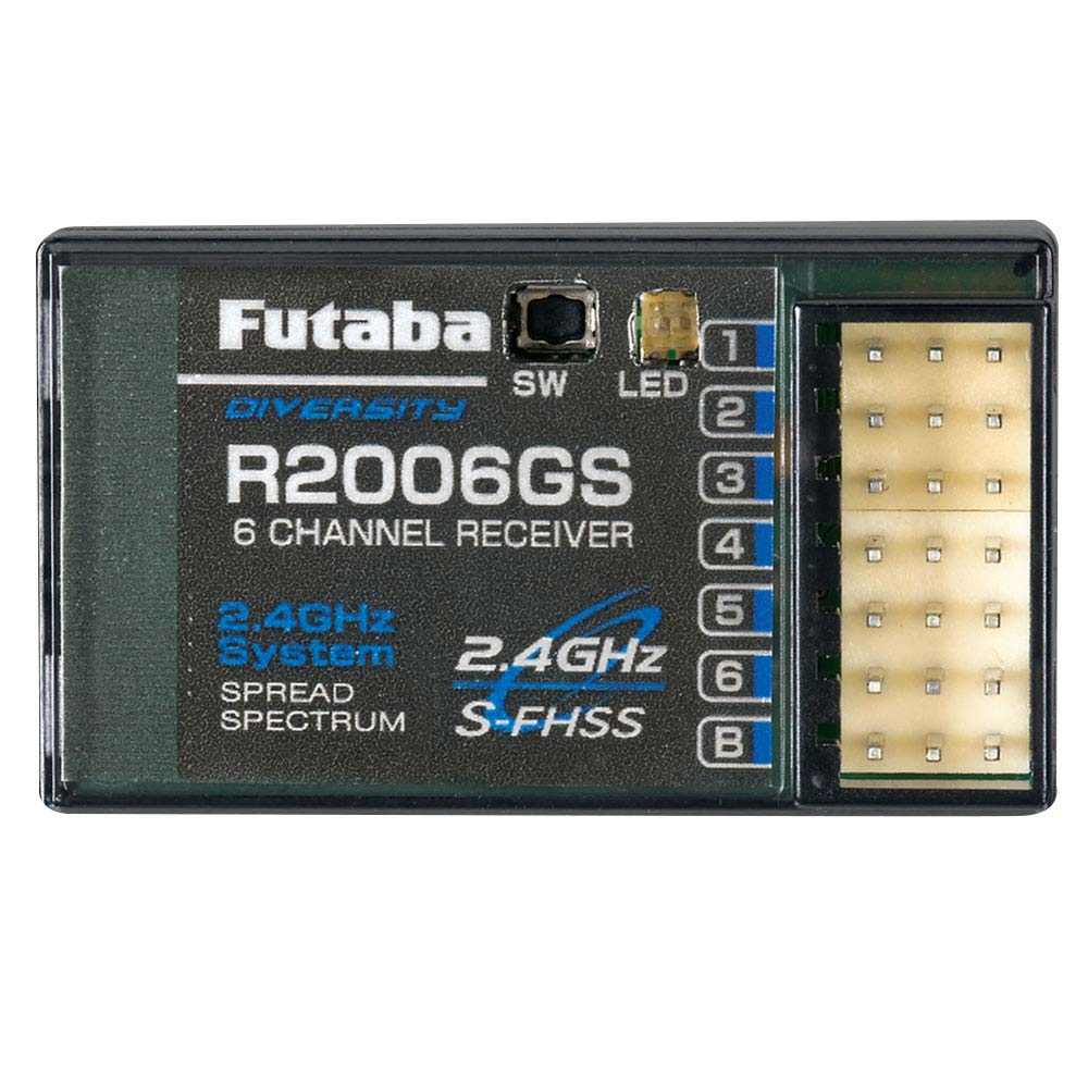 Futaba R2006GS 2.4GHz SFHSS 6-Channel Receiver