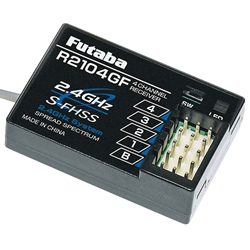 Futaba R2104GF 4-Channel 2.4GHz S-FHSS Receiver 4PL