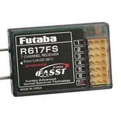 Futaba R617FS 2.4GHz 7-Channel FASST Receiver
