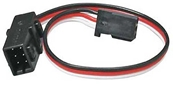 Futaba Heavy Duty Dual Servo Extension 6in. J