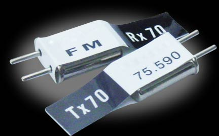 Futaba FM Dual Conversion Crystal Set Channel 74, 75.670