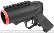 S-Thunder Full Metal 40mm Grenade Launcher Pistol - Short Barrel w/ Rail