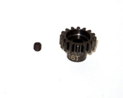 Mod1 5mm Hardened Steel Pinion Gear 16 Tooth (1)