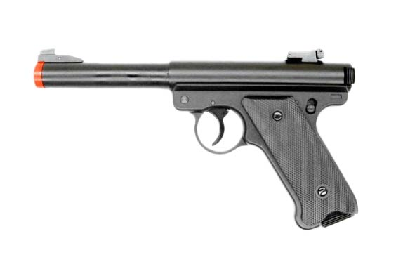 KJW MK1 New Version Ruger Gas Pistol w. Metal Hopup