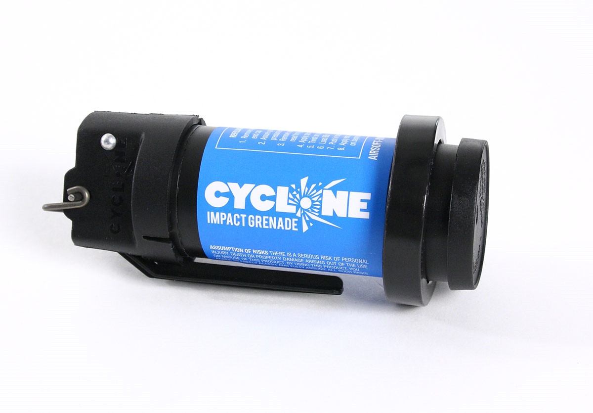 Airsoft Innovations Cyclone Gas Powered Grenade