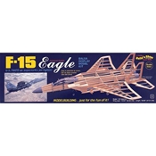 F-15 Eagle Display Balsa Model Kit (1:40)