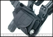 Matrix Tornado Universal Tactical Thigh / Drop Leg Holster (Black)