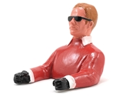 1/9 Pilot with Sunglasses (Red) W/ Arms by Hangar 9