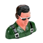 1/5 Pilot, Civilian w/Headphones & Sunglasses(Grn) by Hangar 9