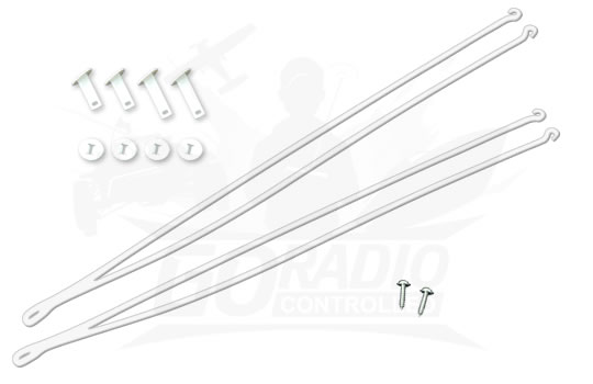 HobbyZone Wing Struts with Screws: Super Cub LP