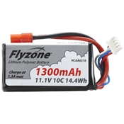 Hobbico LiPo 11.1V 1300mAh Battery Super Cub RTF
