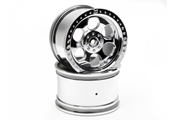 6-Spoke Wheel, Shiny Chrome (2):SAVX,SAVXL by Hobby Products International
