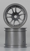 3053 1/10 Split 5 Truck Wheel Gray (2)