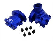 Blue Anodized CNC Aluminum Outer Diff Case, Summit