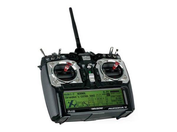 Hitec Aurora 9 9-Channel 2.4GHz Radio System - with Servos and Optima 9 RX