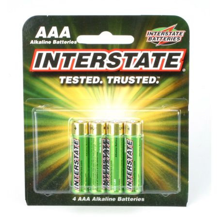 AAA Alkaline Batteries (4)
