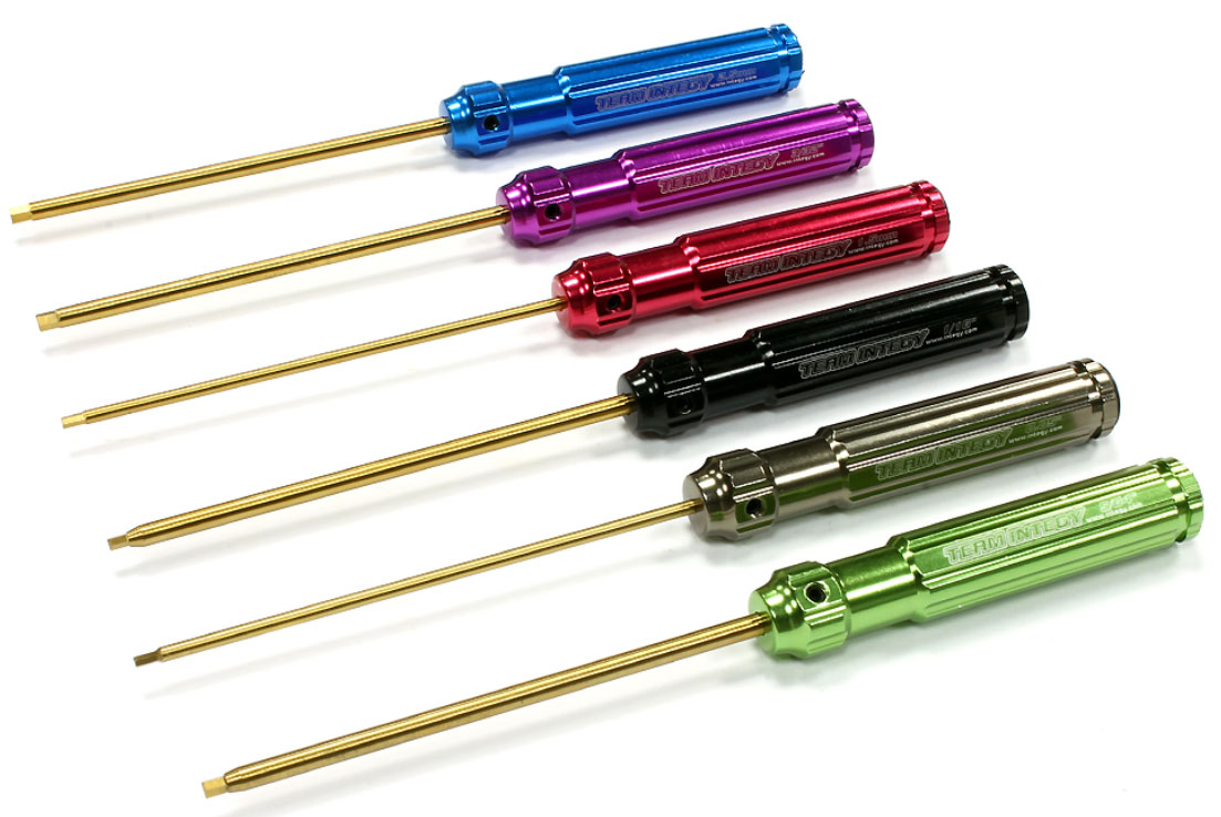 6pc Ti-Nitride Hex Wrench Set