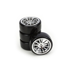 Type4 Complete Whl/Tire Set(4): Drift