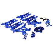 Alloy Conversion Set, Blue: Slash 4X4