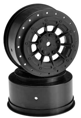 HAZARD LOSI SCTE BLACK WHEELS