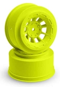 HAZARD - LOSI SCTE YELLOW WHEELS