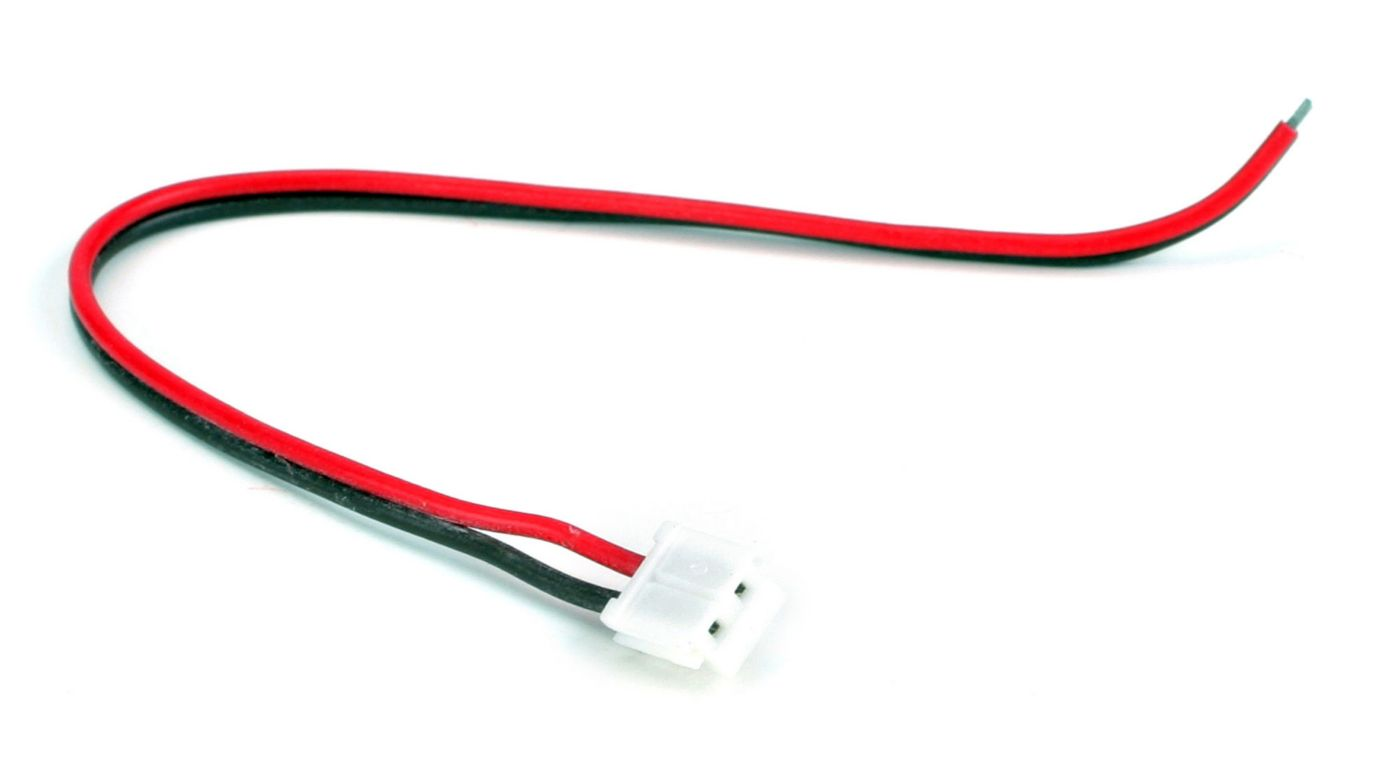 Battery Lead w/Wire(White):B954 by JR
