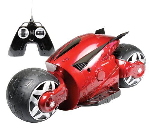 Cybercycle Red 27Mhz RC Motorcycle