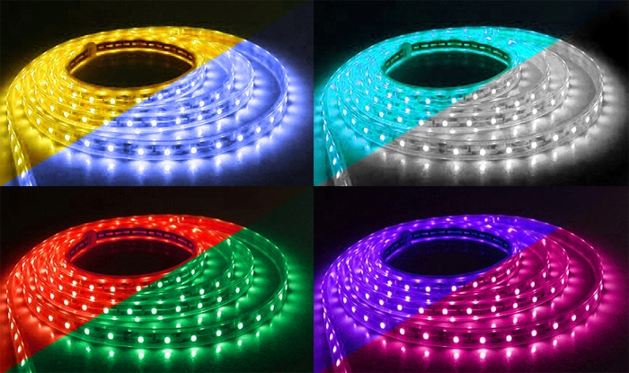 12 Color-Changing LEDs Strip
