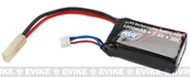 ASG High Performance 7.4v 30c 1000mAh Lipo Battery