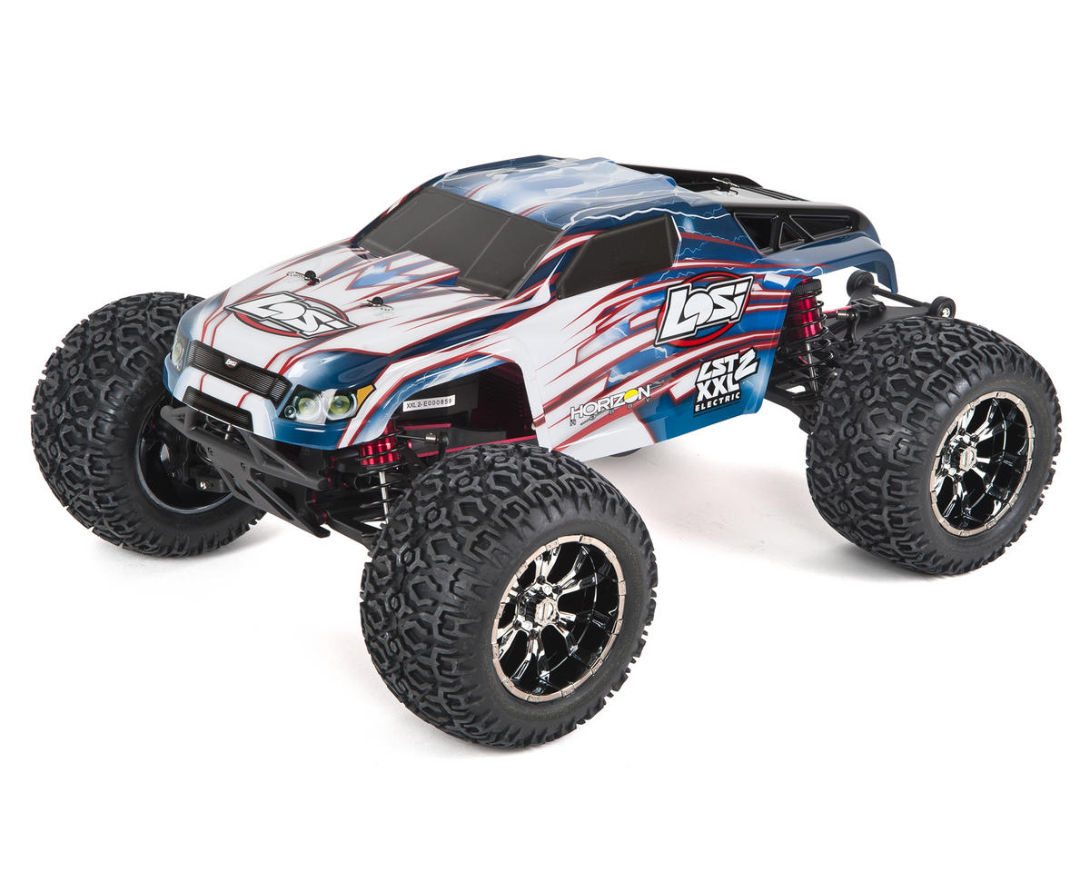 LST XXL2-E RTR, AVC: 1/8 Electric 4WD MT