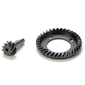 FRONT RING & PINION GEAR : 10-T