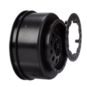 Front Wheel Set, Black: XXX-SCT,SCB