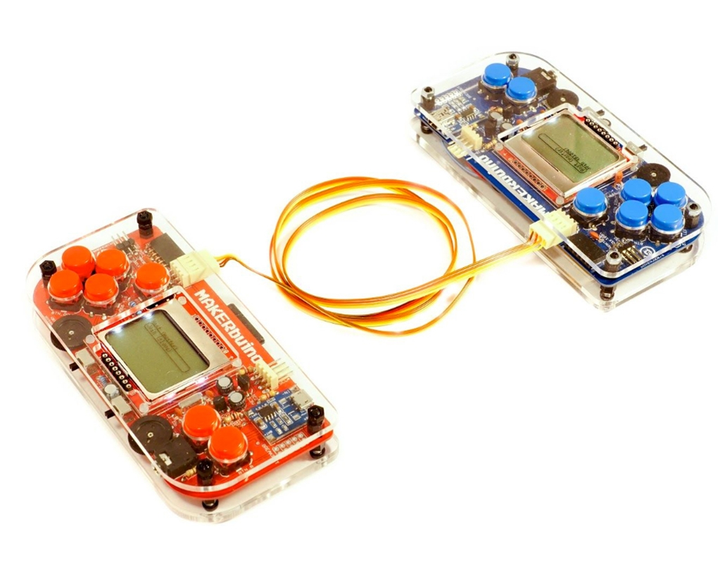 MAKERbuino Multiplayer Link Cable
