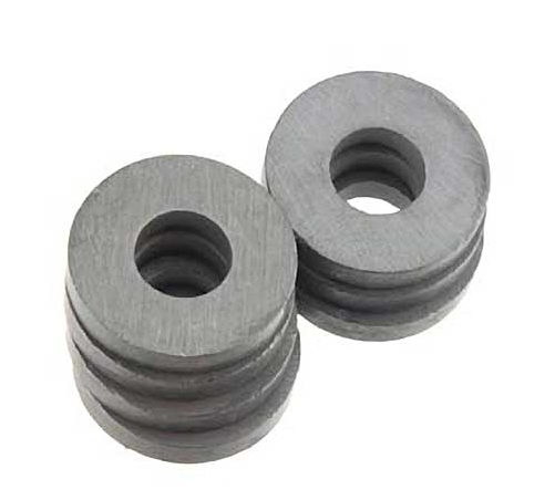 The Magnet Source Ceramic Magnet Ring 3/4x1/4 (6)