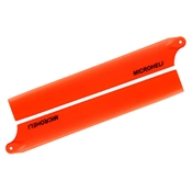 Microheli Plastic Main Blade 135mm, Orange: Blade 130 X