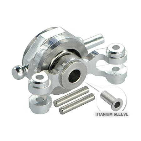 Microheli Double Bearing Titanium Tail Pitch Slider: Blade 130 X